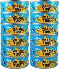 Raw Yellowfin Tuna Steak