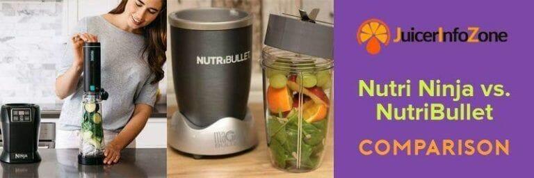 Nutri Ninja vs. NutriBullet | Reviews from Real Users Compared